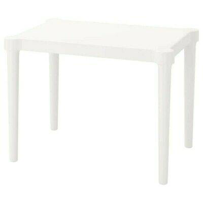 IKEA Utter SERIES Kids Tables Indoor/Outdoor Children Desk Simple Design White • 29.98£