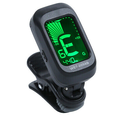 $ CDN6.24 • Buy LCD Digital Clip On Chromatic Acoustic Electric Guitar Bass Ukulele Violin Tuner
