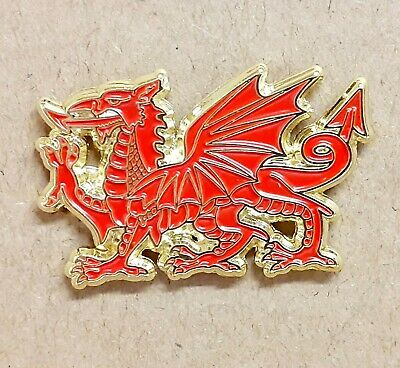 £4.20 • Buy Wales Welsh Dragon Pin Badge High Quality Made