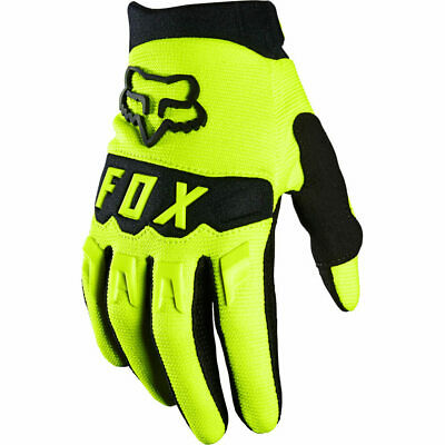 AU34.99 • Buy Fox MX 2021 Dirtpaw FLO Yellow Kids Off  Road Motocross Gloves