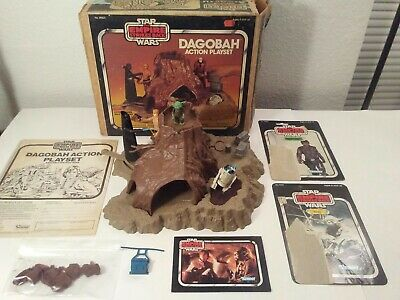 $ CDN348.01 • Buy Star Wars Vintage Dagobah Playset W/box Lot!! 1981 Kenner With Lots Of Extras!!