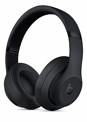 Beats By Dr. Dre Studio3 WL, Wireless Headband Headphones-MATTE BLACK- • 179£
