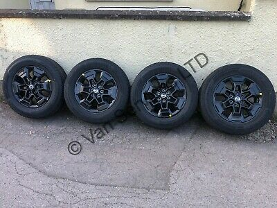 *NEW* Genuine Nissan Navara NP300 N Guard Alloy Wheels With Tyres 255/60 R18 HXL • 750£