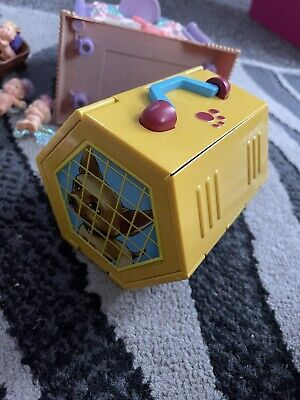 £19.99 • Buy Vintage 90s Pound Puppies Fold Down Pet Carrier Playset Nursery Chihuahua Rare