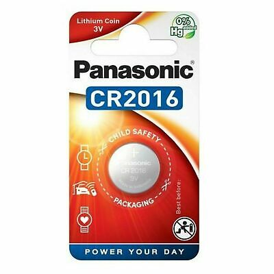 £1.49 • Buy 1 Panasonic CR2016 Lithium Coin Cell 3V Battery Car Key Fobs Toys Remote