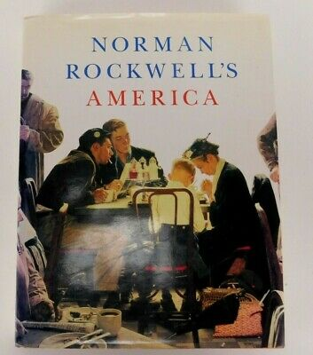 $ CDN12.59 • Buy Norman Rockwell's America Hardback Book Color/Black And White Illustrations
