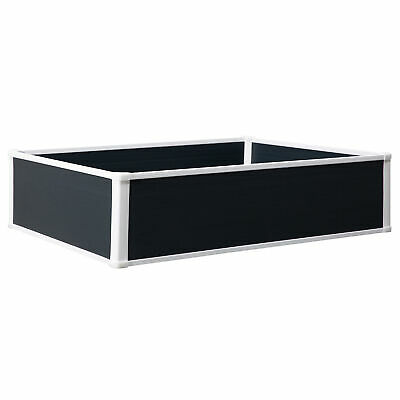 Outsunny Garden Raised Bed Planter Grow Containers Flower Pot PP 120 X 90cm • 65.99£