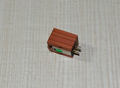 WOOD BODY For AudioTechnica AT95E Cartridge MC Look - New - Sound Improvement • 40.45£