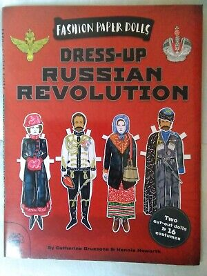 Dress-up Russian Revolution (Fashion Paper Dolls) By Catherine Bruzzone Book The • 3.99£