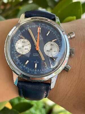 $ CDN761.75 • Buy VINTAGE CHRONOGRAPH WATCH MANUAL CAL.VALJOUX 7733 MENS 37mm SWISS MADE.SERVICED