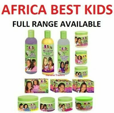 £6.64 • Buy KIDS ORGANICS AFRICA'S BEST | AFRO HAIR CARE PRODUCTS OLIVE OIL | Full Range
