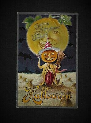 $ CDN182.20 • Buy Scarce M.L.JACKSON HALLOWEEN Postcard  Charms Of The Witching Hour