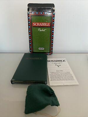Scrabble Game : 1992 Pocket Travel Edition - By Spears In Vgc (free Uk P&p) • 8.99£