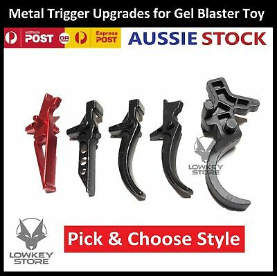 AU14.99 • Buy Upgrade Metal Trigger For Gel Blaster Toys Gen 8 9 10 M4A1 J10 ACR GJ M24/AWM