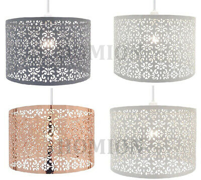 £16.98 • Buy Metal Pendant Laser Cut Chandelier Table Ceiling Light Shade New Large Marrakech