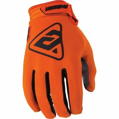 AU10 • Buy New Answer MX AR-3 Orange/Black Motorcross Off Road Dirt Bike Riding Gloves