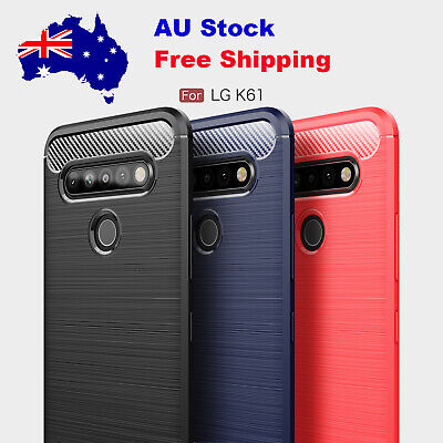 AU18.89 • Buy For LG V30 V30+ K40S K61 Slim Carbon Fiber Shockproof Case Cover