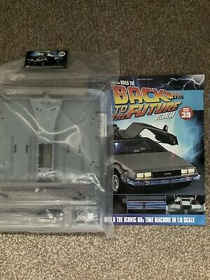 1:8 Scale Eaglemoss Back To The Future Build Your Own Delorean Issue 39 Complete • 22£