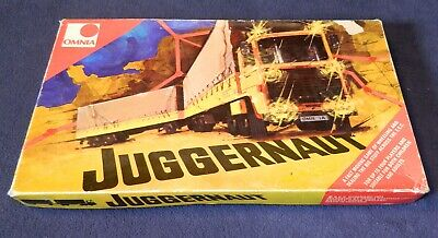 Juggernaut Board Game 1974 By Omnia- Complete- International Lorry Haulage • 18.50£