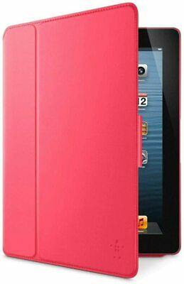 £3.99 • Buy Belkin Smooth FormFit Case With Stand Apple  IPad 2 / 3 / 4th Generation  Pink
