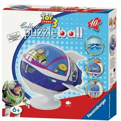 Ravensburger Toy Story 3 Puzzleball Jigsaw Buzz Lightyear 3D Spaceship 40 Pieces • 19.99£