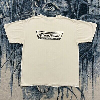 $20 • Buy Vtg Krispy Kreme Doughnuts Shirt San Diego Blood Drive Mens Large 90s Y2k Faded