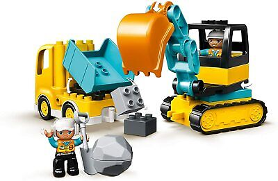 AU24.84 • Buy Lego Duplo Truck 10931 Excavator Tracked New Construction Building