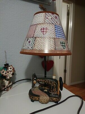 $35 • Buy Collections Etc Sewing Machine Table Lamp