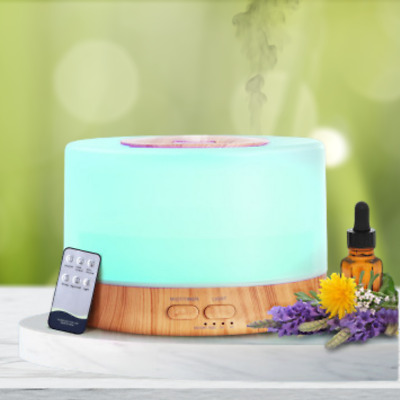 AU33.95 • Buy Aroma Aromatherapy Diffuser LED Essential Oil Ultrasonic Air Humidifier Purifier