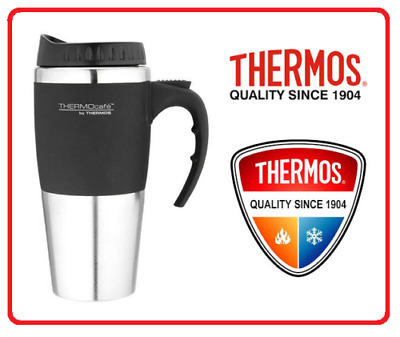 AU19.75 • Buy ❤ THERMOS THERMOCAFE 450ml TRAVEL MUG Insulated Cup Coffee Tea Stainless Steel ❤