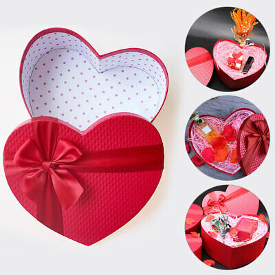 £5.99 • Buy 1Pc Red Heart Shaped Candy Boxes Gift Box Packaging Boxes Valentine's Day