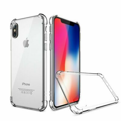 AU4 • Buy IPhone 11 Pro XS Max XR 8 7 6 6s Plus Clear Case Soft Transparent Shockproof