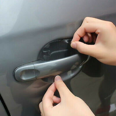 AU3.04 • Buy 4x Invisible Car Door Handle Films Protective Anti-Scratch Protector Accessories