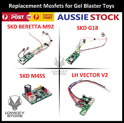AU26.99 • Buy Replacement Mosfet (Circuit Board) For SKD M92/G18/M4SS/LH Vector V2 Gel Blaster