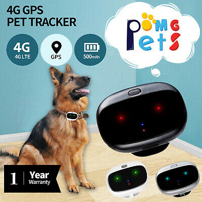 AU135.80 • Buy 4G GPS Tracker Pet Dog Cat Free WEB Tracking 3G WIFI Pets Anti Lost Phone In AU