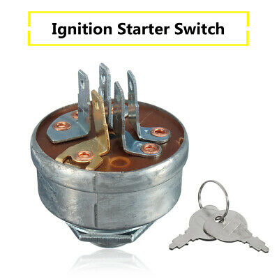 Ignition Starter Switch & Key For MTD 725-0267A Husqvarna Roper Noma On Tractor • 5.56£