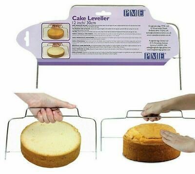 £6.99 • Buy PME Cake Leveller Even Cake Layer Cutting Tool 12 Inch & 18 Inch Baking Tool