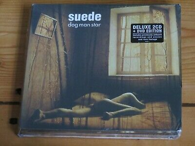 NEW/SEALED 2 CD & DVD SUEDE Dog Man Star (deluxe Edition) Live In Paris, France • 9.50£