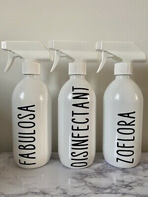 500ml Spray Bottle Zoflora Fabulosa Disinfectant Mrs Hinch Inspired • 7.99£