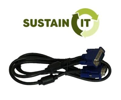 AU3.29 • Buy VGA Video Cable Male To Male -Sustain IT- Used Technology Tested And Guaranteed
