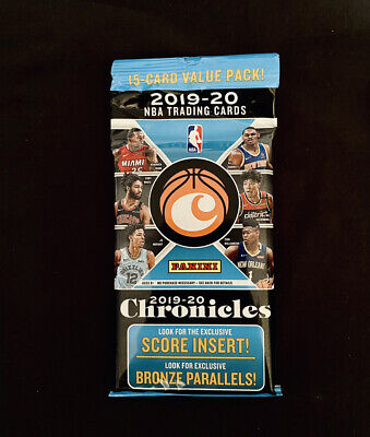 AU40 • Buy 2019-20 Chronicles NBA Basketball Fat Pack (15 Cards) Zion? Ja? RC Rookie Panini