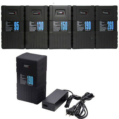 AU230.99 • Buy NEW 95Wh 130Wh 150Wh 190S V-Mount Li-ion POWER-U Battery For SONY +D-tap Charger
