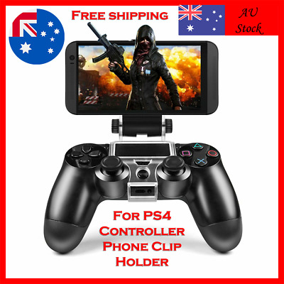 AU13.88 • Buy For PS4 Controller Phone Clip Holder Mount Bracket Stand Fit IPhone Android AU