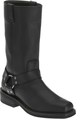 $ CDN169.26 • Buy Harley Davidson Hustin Mens Waterproof Biker Riding Zip Up Boots