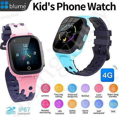 AU78.99 • Buy Kids Smart Watch Video Call WIFI 4G Full Netcom With SOS Button Android IOS Gift