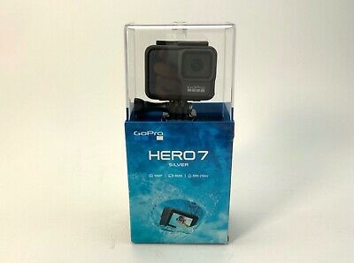 $ CDN213.14 • Buy GoPro Hero 7 Silver 4K Waterproof Action Camera ( CHDHC-601 ) HERO7 SILVER