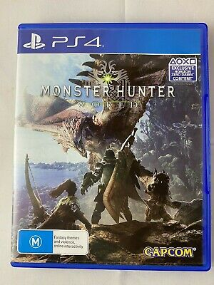 AU19.99 • Buy PS4 Monster Hunter World Sony Playstation 4