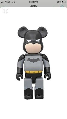 $4250 • Buy Batman Bearbrick Animated Series 400% 2011 Edition