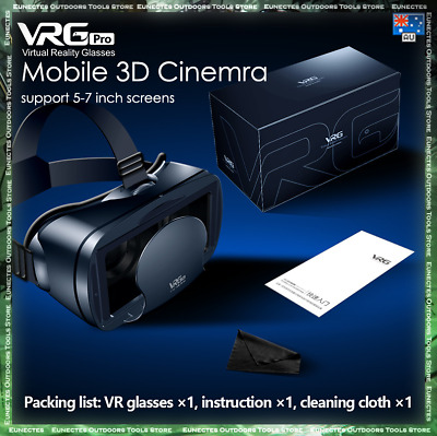 AU27.55 • Buy Virtual Reality Headset 360° VR 3D Virtual Reality Glasses For Mobile Phone AUS