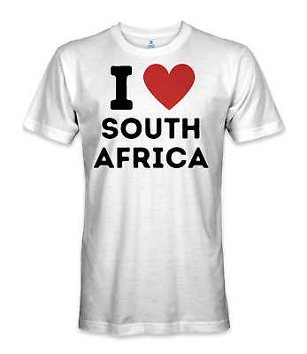 £14.48 • Buy I Love South Africa Country T-shirt